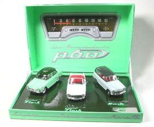 【送料無料】模型車 モデルカー スポーツカー モデルsimca p60set mit 3 modelle