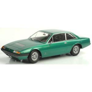 【送料無料】模型車 モデルカー スポーツカー フェラーリグアテマラメタリックグリーンスケールモデルferrari 365 gt4 22 1972 metallic green 118 180164 kk scale models