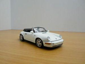 【送料無料】模型車 モデルカー スポーツカー ポルシェカレラカブリオレブランporsche 911 964 carrera 2 cabriolet blanc 143