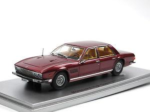 【送料無料】模型車 モデルカー スポーツカー スケールモデルドアセダンモンテベルディkess scale models 1971 monteverdi high speed 3754 4door sedan red 143