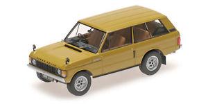 【送料無料】模型車 モデルカー スポーツカー リアルタイムローバーイエローalmost real range rover 1970 yellow 143 alm410103