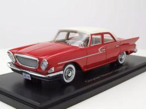 【送料無料】模型車 モデルカー スポーツカー クライスラーニューポートセダンモデルカースケールモデルchrysler port sedan 1961 rotwei, modellauto 143 neo scale models
