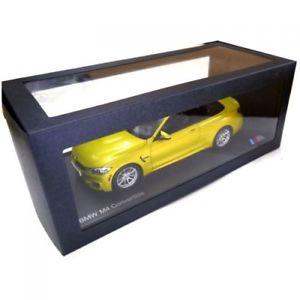 【送料無料】模型車 モデルカー スポーツカー モデルカーオースティンoriginal bmw modellauto 118 m4 f83 austin yellow