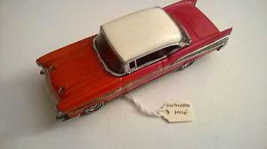 【送料無料】模型車 モデルカー スポーツカー シボレーキャップマッチrare prepro dy02 chevrolet, red white, bigger gap, matchbox, dinky, no box