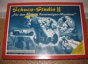 【送料無料】模型車 モデルカー スポーツカー ボックスschuco montagekasten studio ii q205