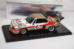 【送料無料】模型車 モデルカー スポーツカー スパーク#ルマンspark bmw 35 csl 45 le mans 1976 143