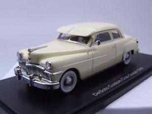 【送料無料】模型車 モデルカー スポーツカー デソトカスタムクラブクーペライトイエローモデルカースケールモデルdesoto custom club coupe 1949 hellgelb, modellauto 143 neo scale models