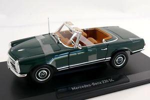 【送料無料】模型車 モデルカー スポーツカー メルセデスmercedes 230 sl pagode moss grn 118 norev neu amp; ovp 183506