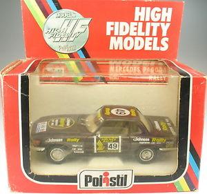【送料無料】模型車 モデルカー スポーツカー メルセデススタイルラリーモデルカーpolistil s707 mercedes 450 sl pagode rally in ovp 125 modellauto 707
