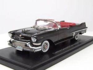 【送料無料】模型車 モデルカー スポーツカー キャデラックシリーズブラックモデルカースケールモデルcadillac series 62 convertible 1957 schwarz, modellauto 143 neo scale models