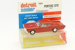 【送料無料】模型車 モデルカー スポーツカー デトロイトポンティアック#cragstan detroit 143 pontiac gto 8107 avec sa boite sabra gamda koor