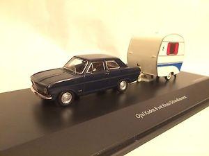 【送料無料】模型車 モデルカー スポーツカー オペルトレーラーopel kadett b mit anhnger dklblauwei 143 schuco neu amp; ovp 2947