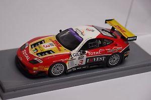 【送料無料】模型車 モデルカー スポーツカー ガソリンフェラーリ#スパチームbbr gasoline ferrari 575 gtc 3 spa 2005 team gpc 143