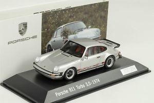 【送料無料】模型車 モデルカー スポーツカー ポルシェターボプレゼンテーションシルバーシルバー1974 porsche 911 930 turbo 30 nr 1 prsentation silver silber 143 spark