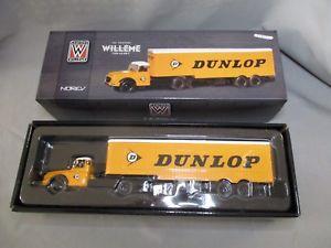 【送料無料】模型車 モデルカー スポーツカー タイプダンロップdv8312 norev 143 camion willeme type ld 610 t dunlop jaune ref 879995