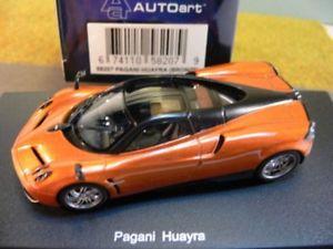 【送料無料】模型車 モデルカー スポーツカー ブロンズ143 autoart pagani huayra bronze 58207
