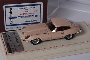 【送料無料】模型車 モデルカー スポーツカー テクノモデルジャガークーペピンクタイプtecnomodel jaguar type e coupe 1966 pink 143