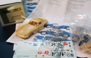 【送料無料】模型車 モデルカー スポーツカー キットフェラーリレースルネッサンスkit 143 ferrari 250 gto ch3987gt mecom racing 1963 renaissance 436214
