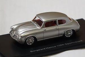 【送料無料】模型車 モデルカー スポーツカー ハンザスポーツクーペシルバーネオborgward hansa 1500 sportcoupe silber 143 neo neu amp; ovp 46210