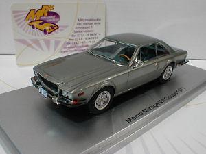 【送料無料】模型車 モデルカー スポーツカー ミラージュクーペシルバーメタリックkess 43033900 momo mirage v8 coupe baujahr 1971 in silbermetallic 143