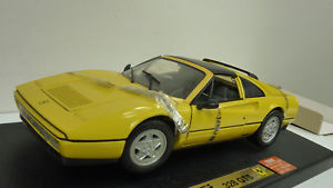 【送料無料】模型車 モデルカー スポーツカー フェラーリanson 118 nr 30308w ferrari 328 gts gelb in ovp a697
