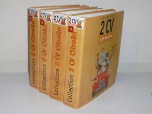 【送料無料】模型車 モデルカー スポーツカー コレクションシトロエンアシェットcollection citroen 2cv hachette 4 classeurs fascicules 1 a 139