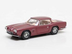 【送料無料】模型車 モデルカー スポーツカー マトリックスマセラティマセラティクーペレッドハットmatrix maserati 5000 gt frua coupe 1963 red 143 mx41311101