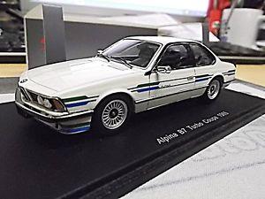 【送料無料】模型車 モデルカー スポーツカー シリーズアルピナチューニングターボクーペスパークホワイトbmw 6er 635 b7 alpina tuning turbo coupe 1985 white weiss e24 spark resin 143