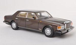 【送料無料】模型車 モデルカー スポーツカー メタリックブラウンモデルネオスケールモデルbentley mulsanne rhd 1980 metallic brown 143 model neo scale models