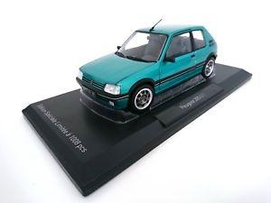 【送料無料】模型車 モデルカー スポーツカー ミニチュアプジョークラシックエシェルハンドルvhicule miniature peugeot 205 gti griffe 19l 1990 vert echelle 118 norev