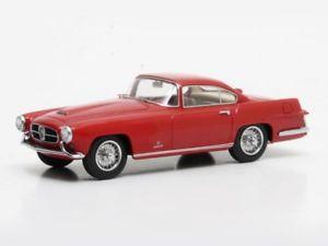 【送料無料】模型車 モデルカー スポーツカー ジャガードアクーペギアmatrix jaguar xk140 ghia 2door coupe 1955 red 143 mx41001012