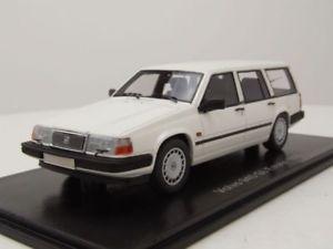 【送料無料】模型車 モデルカー スポーツカー ボルボコンビホワイトモデルカースケールモデルネオvolvo 940 gl estate kombi 1990 wei modellauto 143 neo scale models