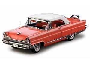 【送料無料】模型車 モデルカー スポーツカー サンスターリンカーンプレミアアイランドコーラルホワイトsun star 118 4645 lincoln premiere 1956 convertible, island coralwhite