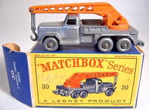【送料無料】模型車 モデルカー スポーツカー マッチクレーンボックスmatchbox rw 30b magirus crane silber, silberne rder in d box