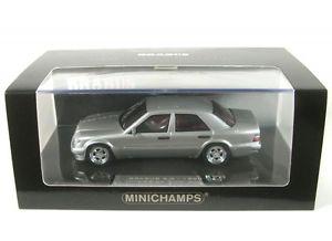 【送料無料】模型車 モデルカー スポーツカー メルセデスベンツシルバーmercedesbenz 500e w124 brabus 65 silver 1993