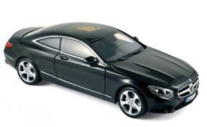 【送料無料】模型車 モデルカー スポーツカー ベンツクラスクーペブラックnorev mercedesbenz sclass coup 2014 schwarz 118 183482
