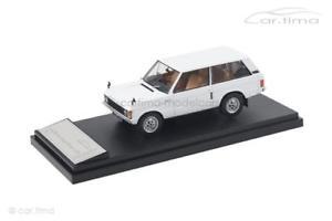 【送料無料】模型車 モデルカー スポーツカー ランドローバーレンジローバーホワイトリアルタイムland rover range rover 1970 wei 1 of 1999 almost real 143 410102