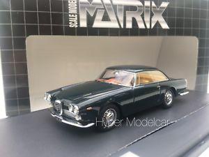【送料無料】模型車 モデルカー スポーツカー マトリックススケールモデルアルファロメオツーリングダークグリーンmatrix scale models 143 alfa romeo 2000 praho touring dark green mx50102081