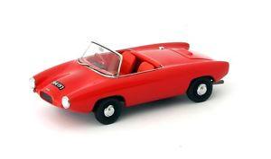 【送料無料】模型車 モデルカー スポーツカー ゼータスポーツロードスターカルトlightburn zeta sports roadster red 1961 autocult 143 ac02005