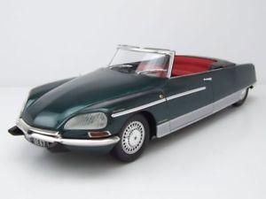 【送料無料】模型車 モデルカー スポーツカー シトロエンパームビーチライトグリーンモデルカーcitroen ds 21 chapron palm beach 1968 grn mit licht, modellauto 118 norev