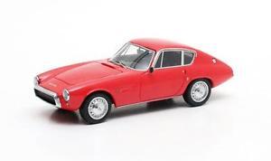 【送料無料】模型車 モデルカー スポーツカー グアテマーペギアフィアットマトリックスghia fiat 1500 gt coup red 1964 matrix 143 mx10701021