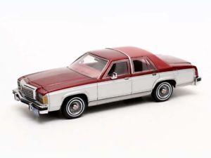 【送料無料】模型車 モデルカー スポーツカー マトリックスフォードビクトリアシルバーレッドmatrix ford crown victoria 1986 silverred 143 mx20603402