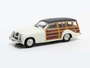 【送料無料】模型車 モデルカー スポーツカー マトリックスサファリステーションワゴンホワイトmatrix allard p2 safari station wagon 1954 white 143 mx40103031