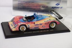 【送料無料】模型車 モデルカー スポーツカー スパーククレーメルレーシング#ルマンspark kremer racing k8 6 le mans 1997 143