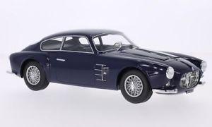 【送料無料】模型車 モデルカー スポーツカー マセラティマセラティボスモデルmaserati a6g 2000 zagato, dunkelblau, 118, bosmodels