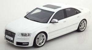 【送料無料】模型車 モデルカー スポーツカー オットーアウディホワイトメタリック118 otto audi s8 2008 whitemetallic