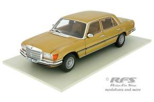 【送料無料】模型車 モデルカー スポーツカー メルセデスベンツゴールドメタリックビルドmercedesbenz 450 sel 69 baujahr 1976 gold metallic 118 norev 183456 neu