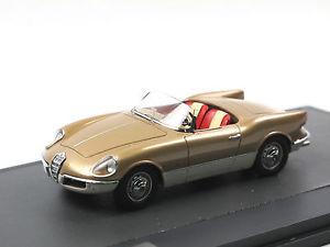 【送料無料】模型車 モデルカー スポーツカー マトリックススケールモデルアルファロメオクモプロトmatrix scale models 1956 alfa romeo giulietta spider bertone prototipo 143