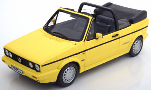 【送料無料】模型車 モデルカー スポーツカー オットーゴルフラインイエロー118 otto vw golf 1 convertible young line 1981 yellow