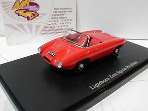 【送料無料】模型車 モデルカー スポーツカー カルトライトバーンゼータスポーツロードスターautocult 02005 lightburn zeta sports roadster baujahr 1964 in rot 143 neu